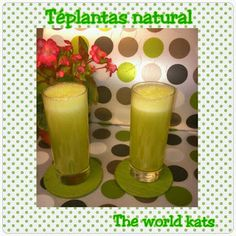 Batido de Frutas con Té Verde ~ THE WORLD KATS
