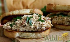 Wildtree's Tuscan Tuna SaladRecipe - uses Tuscany Bread Dipper Herb Blend