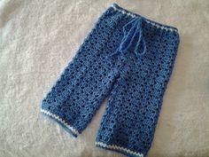 Pantalon de bebe a crochet #tutorial #DIY - YouTube