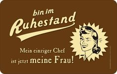 # ruhestand #