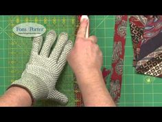 Sew Easy Lesson: String Blocks from Ties - YouTube