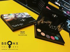 Inspired by the variety of colors, styles and traditions the stylish cosmetic brand BRONX COLORS was launched. Bronx Colors, Nyc Go, Eyeshadow Set, Product Launch, Skyline, Touch, Urban, Cosmetics, Products