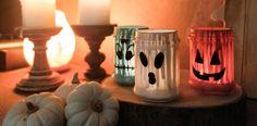 La notte di Halloween si avvicina, e sicuramente starete già pensando a tante creazioni e addobbi per rendere indimenticabile la serata del 31 ottobre dei vostri bambini. Tra le tante idee vi volevamo regalare questo strepitoso tutorial, che vi sorprenderà per la sua semplicità e per il suo effetto scenico da brivido. Candle Holders, Table Lamp, Candles, Home Decor, Table Lamps, Decoration Home, Room Decor, Porta Velas, Candy