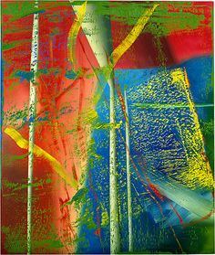Juno 1983 Painting, oil on canvas h x w cm Accn No: NGA © Gerhard Richter Gerhard Richter Painting, Art Studio Design, Bright Paintings, Contemporary Wall Art, Art For Art Sake, Wassily Kandinsky, Sculpture, Franz Kline, Abstract Art