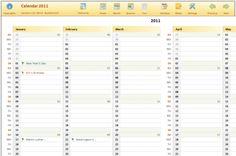 holiday planner excel - Szukaj w Google