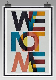 We Not Me - FromUpNorth