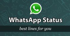 WhatsApp status need not be boring! I have best of clever, funny and cheeky one liner status messages. Select your WhatsApp status from one line quotes! Attitude Status, Love Status, Attitude Quotes, Whatsapp Videos, Dp For Whatsapp, Whatsapp Group, Short Status, Status Hindi, Funny Whatsapp Status