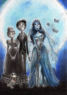Corpse Bride by DibuMadHatter on DeviantArt Corpse Bride Art, Emily Corpse Bride, Tim Burton Corpse Bride, Tim Burton Style, Tim Burton Art, Tim Burton Films, Desenhos Tim Burton, Tim Burton Characters, Cute Disney Pictures