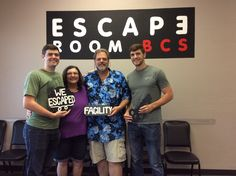 This group escaped Dr. Andrews' lab with a minute to spare!