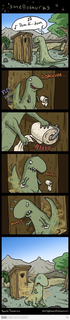 You can never go wrong with a T-Rex joke. Teehee!