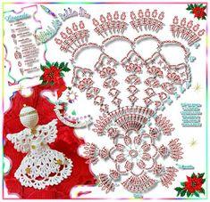 """Framecraft Natale Designs Confezione da 4 /""""ANGELI/"""" solo Grafico"""