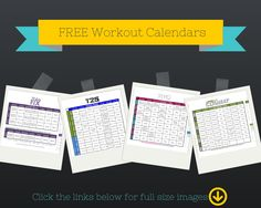 Free Beachbody workout calendars, including PiYo, 21 Day Fix, Focus T25, and Les Mills Combat.
