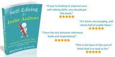 Editing Skills, Improve Yourself, Indie, Encouragement, This Book, Fans, Positivity, Author, Let It Be