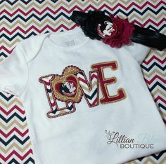 Hey, I found this really awesome Etsy listing at https://www.etsy.com/listing/180875426/florida-state-inspired-applique