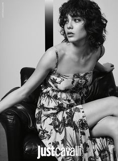 Just Cavalli unveils its spring-summer 2016 campaign, getting a new look with some rock-infused portraits starring Steffy Argelich and Louis Bauvir. Photographed by Richard Bush (2b Management), the pair wear denim, leather and embroidered fashions styled by Sarah M Richardson. Steffy sports her signature curly bob and a minimal face of makeup for the new …