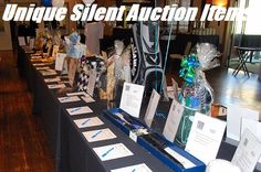 Fundraiser Help: Unique Silent Auction Items & Ideas ~ could combine a huge day of fundraising. A golf tournament with an silent auction for the ladies :)