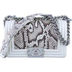Judith Leiber Natural Python Gold Frame Snake Chain Handbag Or Clutch yxR0lzt