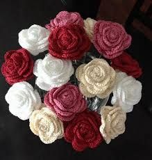 Image result for crochet bouquet free pattern