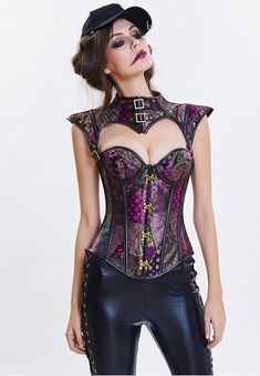 Burlesque lingerie 2019 Sexy bustier and corset Steampunk clothing Gothic corset Corset Bustier, Burlesque Corset, Overbust Corset, Corset Steampunk, Steampunk Couture, Steampunk Clothing, Bustiers, Corset Vintage, Gothic Korsett