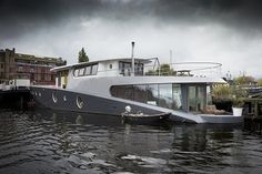 houseboat amserdam newbuild