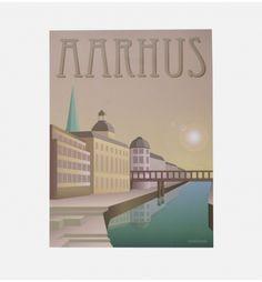 AARHUS ÅEN fra Vissevasse. Køb illustrationer fra Vissevasse på http://finderskeepers.dk/artworks/aarhus-aen.html