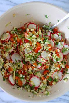 charred corn salad or salsa charred corn salad or salsa works either ...