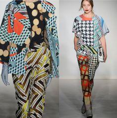 Digital Matisse looks – Basso and Brook Fall 2012  | catwalks