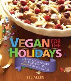 Vegan for the Holidays cookbook