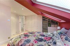 Built in wardrobes in loft conversion