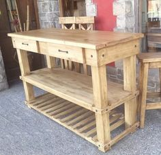Palette, House Plans And More, Kitchen Cart, Pallet Projects, Home Furniture, Interior Design, Building, Table, Kitchen Islands