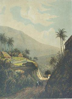 Abraham Salm - Weg van Buitenzorg naar de vallei van Salak