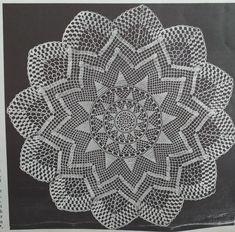 Salome Crochet Doilies, Knitting, Pattern, Mandalas, Tricot, Breien, Patterns, Stricken, Weaving