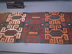 Art With a Needle: Pre-Columbian textiles