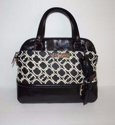Ellen Tracy Womens Black Tessa Top Handle Bag Tote Free Shipping SALE #EllenTracy #TotesShoppers