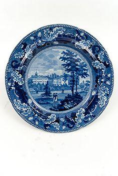 Historical Staffordshire Pottery American Scenes Harvard College