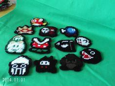 12 Super Mario Villains Magnets Plastic by SnarkyLittleStitcher, $17.00
