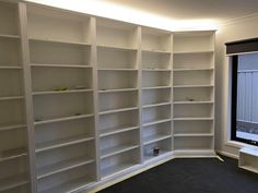 How a Little Idea Became a Little Library Ikea Billy Bookcase Hack, Wall Bookshelves, Wall Shelves, Little Library, 7 Months, Cabinet Makers, Strip Lighting, How To Become, Study