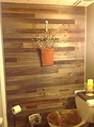 Amazon Com Epic Artifactory Reclaimed Barn Wood Wall Panels Diy Peel And Stick Easy Installati Reclaimed Barn Wood Wall Reclaimed Barn Wood Wood Panel Walls
