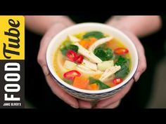 Healthy Chicken & Vegetable Soup | KerryAnn Dunlop - Bing video