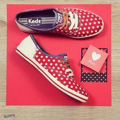 Pra quem gosta de conforto e não abre mão do estilo, o Keds é sempre a escolha certa! #temnaspot #temnajoy #keds #kedslover #girls #fashion #estilo #tênis