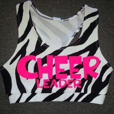 Items similar to Cool Stunt Bro Hit It Again SportsBra With Matching Sequins Bow on Etsy Cheer Practice Outfits, Cheer Outfits, Cheerleading Outfits, Crop Top Outfits, Dance Outfits, Cool Outfits, Cheer Clothes, Cheerleading Quotes, Cheer Sports Bras