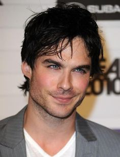 Ian Somerhalder, he is cute but way to over attractive. A love hate relationship…