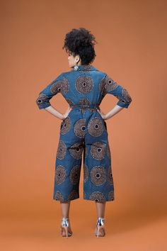 Gorgeous Clothes on latest african fashion look 189 African Print Jumpsuit, African Print Dresses, African Fashion Dresses, African Dress, African Outfits, African Clothes, African American Fashion, African Print Fashion, Africa Fashion