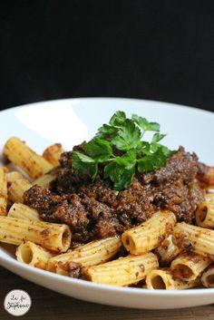 Sauce bolognaise aux champignons, recette vegan - La Fée Stéphanie