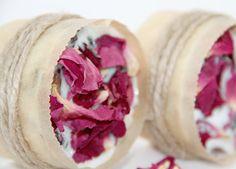 Pretty. Organic Rose Soap