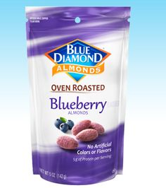 Blue Diamond Growers : Our Products : Oven Roasted : Blueberry