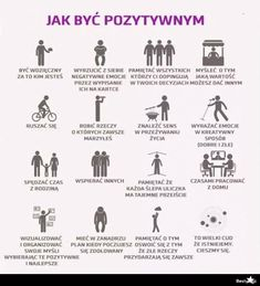 BESTY.pl - Jak być pozytywnym Self Development, Personal Development, Good Habits, Life Organization, Life Motivation, Better Life, Self Improvement, Happy Life, Life Is Good