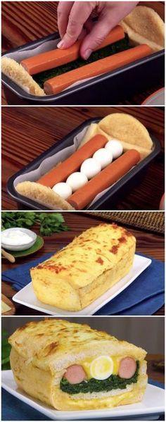 A Ideia Perfeita Para Aquele Lanchinho Fácil e Delicioso! #lache #bolosanduíche #sanduíche #bolo #lancheperfeito