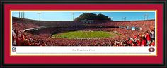 San Francisco 49ers Panoramic - Candlestick Park - NFL Picture $199.95