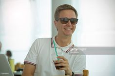 Young man wear sunglasses and holding a coffee   #Clement anquin(model)  #MamiGibbs(photo)